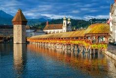 Λουκέρνη Ελβετία Στοκ φωτογραφία με δικαίωμα ελεύθερης χρήσης