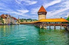 Λουκέρνη Ελβετία Στοκ Φωτογραφίες