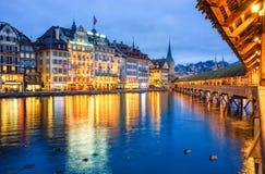 Λουκέρνη Ελβετία Στοκ Εικόνες