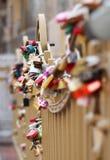 Λουκέτα της αγάπης Στοκ εικόνες με δικαίωμα ελεύθερης χρήσης
