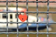 Λουκέτο αγάπης Στοκ φωτογραφίες με δικαίωμα ελεύθερης χρήσης