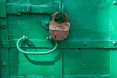 Λουκέτο στην πύλη, Uglich, Ρωσία Στοκ Εικόνες