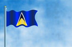 Λουκία Άγιος διανυσματική απεικόνιση