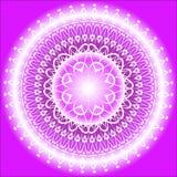 Λουλάκι Mandala απεικόνιση αποθεμάτων
