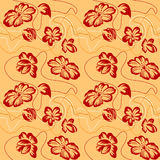 λουλούδια άνευ ραφής απεικόνιση αποθεμάτων