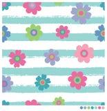 λουλούδια άνευ ραφής Στοκ εικόνες με δικαίωμα ελεύθερης χρήσης