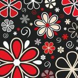 λουλούδια αναδρομικά Στοκ Φωτογραφίες