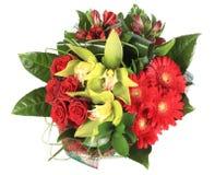 λουλούδια ανθοδεσμών Στοκ Φωτογραφίες