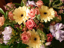 λουλούδια ανθοδεσμών Στοκ Φωτογραφία