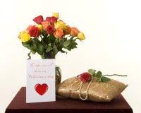 Λουλούδια βαλεντίνων Στοκ εικόνες με δικαίωμα ελεύθερης χρήσης