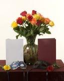 Λουλούδια βαλεντίνων Στοκ εικόνα με δικαίωμα ελεύθερης χρήσης