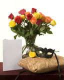 Λουλούδια βαλεντίνων Στοκ Εικόνες