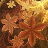 λουλούδια γαλαξιακά Στοκ φωτογραφίες με δικαίωμα ελεύθερης χρήσης