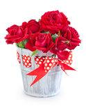 Λουλούδια για την ημέρα του βαλεντίνου. Στοκ Εικόνες