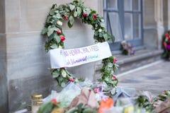 Λουλούδια για τον πρίγκηπα Henrik, Δανία Στοκ Εικόνα