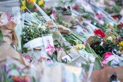 Λουλούδια για τον πρίγκηπα Henrik, Δανία Στοκ εικόνες με δικαίωμα ελεύθερης χρήσης