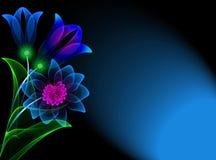 λουλούδια διαφανή Στοκ εικόνες με δικαίωμα ελεύθερης χρήσης