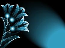 λουλούδια διαφανή Στοκ Εικόνες