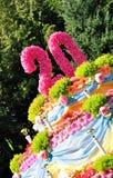 λουλούδια κέικ Στοκ Εικόνες
