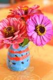 λουλούδια πεδίων ανθο&delt στοκ εικόνα