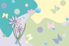 λουλούδια πεταλούδων Στοκ φωτογραφία με δικαίωμα ελεύθερης χρήσης