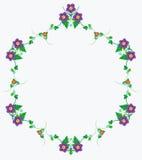 Λουλούδια πλαισίων Στοκ Εικόνα