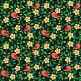 λουλούδια πουλιών ανα&sigm Στοκ φωτογραφία με δικαίωμα ελεύθερης χρήσης