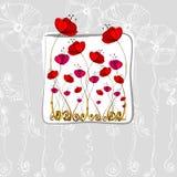 λουλούδια που διευκ&rho Στοκ εικόνες με δικαίωμα ελεύθερης χρήσης