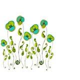 λουλούδια που διευκ&rho Στοκ Φωτογραφίες