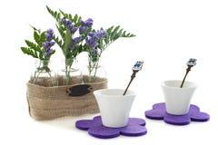λουλούδια προγευμάτων Στοκ φωτογραφίες με δικαίωμα ελεύθερης χρήσης