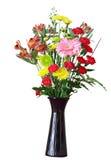 Λουλούδια vase στοκ εικόνα με δικαίωμα ελεύθερης χρήσης