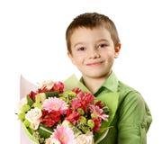λουλούδι αγοριών ανθο&delt Στοκ φωτογραφίες με δικαίωμα ελεύθερης χρήσης