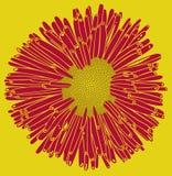 λουλούδι αναδρομικό Στοκ Φωτογραφία