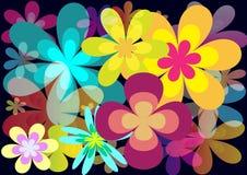 λουλούδι ανασκόπησης Στοκ Φωτογραφία