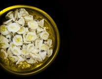 Λουλούδι εγγράφου στη νεκρική τελετή στο βουδισμό Στοκ εικόνες με δικαίωμα ελεύθερης χρήσης