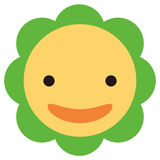 λουλούδι ευτυχές Στοκ φωτογραφία με δικαίωμα ελεύθερης χρήσης