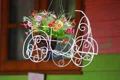 λουλούδι καλαθιών Στοκ Φωτογραφίες