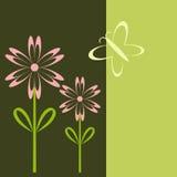 λουλούδι καρτών απεικόνιση αποθεμάτων