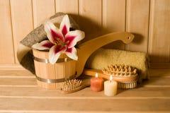 λουλούδι κεριών washtub Στοκ φωτογραφίες με δικαίωμα ελεύθερης χρήσης