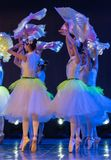 Λουλούδι-κινεζικό εθνικό μπαλέτο της Jasmine Στοκ Εικόνες