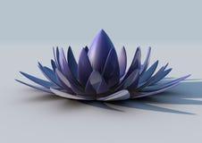 λουλούδι μεταλλικό Στοκ Φωτογραφία