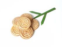 λουλούδι μπισκότων Στοκ εικόνα με δικαίωμα ελεύθερης χρήσης
