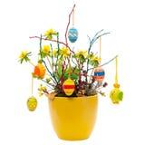 λουλούδι Πάσχας ρύθμισης Στοκ εικόνα με δικαίωμα ελεύθερης χρήσης