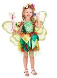 λουλούδι παιδιών πεταλούδων Στοκ φωτογραφίες με δικαίωμα ελεύθερης χρήσης