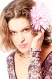 λουλούδι που φαίνεται &rho Στοκ φωτογραφία με δικαίωμα ελεύθερης χρήσης