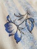 Λουλούδι στο duvet στοκ φωτογραφία