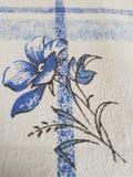 Λουλούδι στο duvet στοκ εικόνα με δικαίωμα ελεύθερης χρήσης