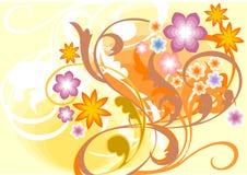 λουλούδι σύνθεσης Στοκ Φωτογραφίες