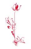 λουλούδι τυποποιημένο ελεύθερη απεικόνιση δικαιώματος