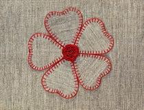 Λουλούδι των καρδιών Στοκ Εικόνες